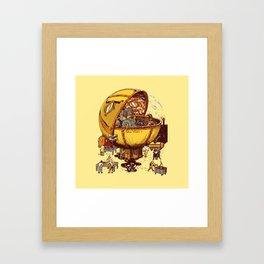 GHOST EATER 1 Framed Art Print