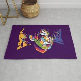 Robert Smith Pop Art Rug