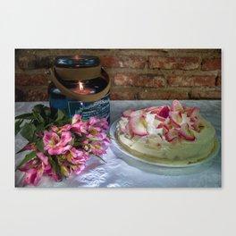 Beautiful cake Canvas Print