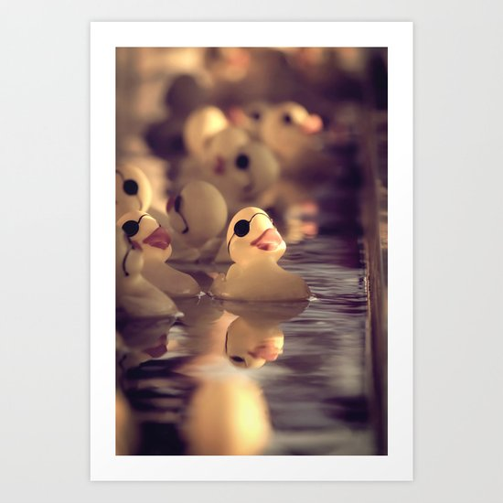 Rubber Ducky You're The One Art Print