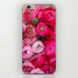 Paris Marché Flower Piles iPhone Skin