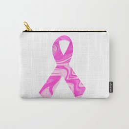 Breast Cancer Awareness Ribbon Art Print, Wall Tapestry, Coffee Mugs, Shirts Carry-All Pouch