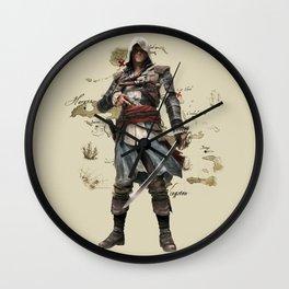 Edward Kenway Wall Clock
