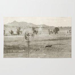 """Vintage Valley"" by Murray Bolesta! Rug"