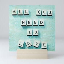 Love Is Mini Art Print