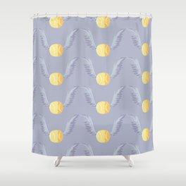 Magic cute wings  Shower Curtain