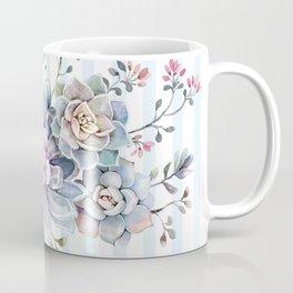 succulent watercolor 2 Coffee Mug