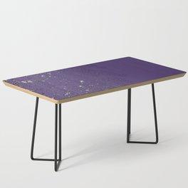 Purple Mold Coffee Table