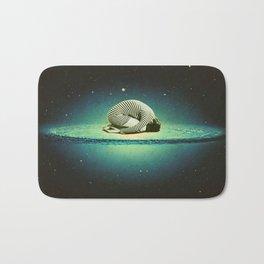 Balasana space Bath Mat