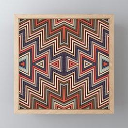 Aztec Symmetry Framed Mini Art Print