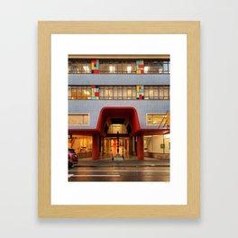 48 Victoria St Framed Art Print