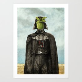 Son of Darkness Art Print
