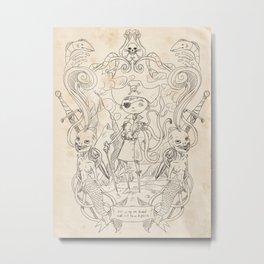 Yo Ho, Yo Ho!  Metal Print