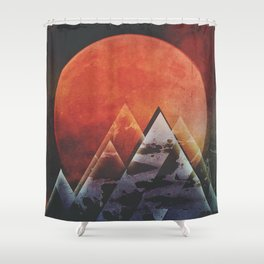 Fractions B10 Shower Curtain