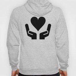 Loveheart Hands Hoody
