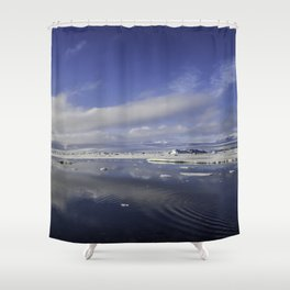 Jokulsarlon Lagoon Beach 11 Shower Curtain