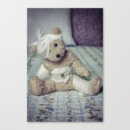 give me some comfort please Canvas Print