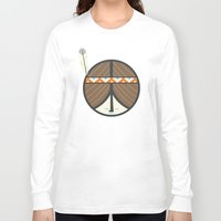 peace Long Sleeve T-shirts featuring Peace by Wharton