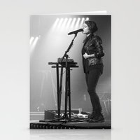 tegan and sara Stationery Cards featuring Tegan And Sara by Adam Pulicicchio Photography