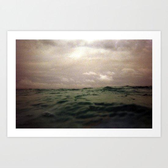 ocean iii Art Print
