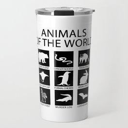RARE ANIMALS OF THE WORLD Travel Mug