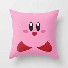 Kirby - Nintendo - Minimalist Throw Pillow