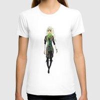 fashion illustration T-shirts featuring Fashion Illustration by Anca Avram