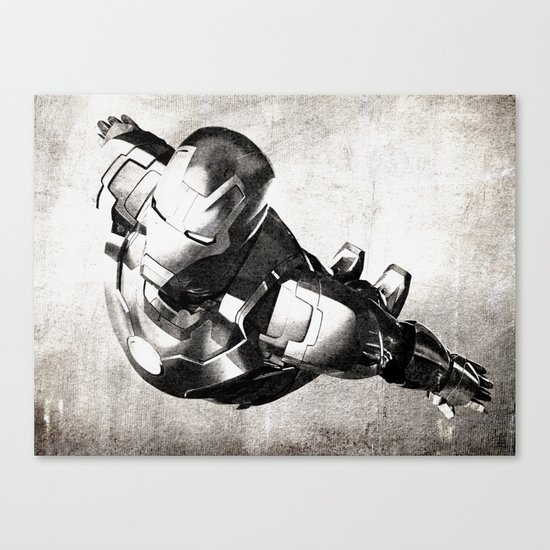 Iron Man III Canvas Print