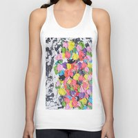 carnival Tank Tops featuring Carnival  by Laura Jane Mitbrodt