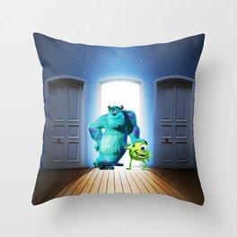 monster inc Throw Pillow