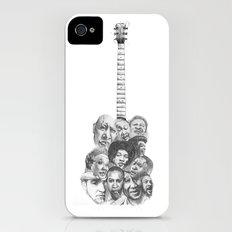 The Blues iPhone (4, 4s) Slim Case