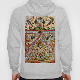 old motives / colorful / Armenian  Hoody