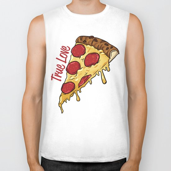 Pizza Biker Tank