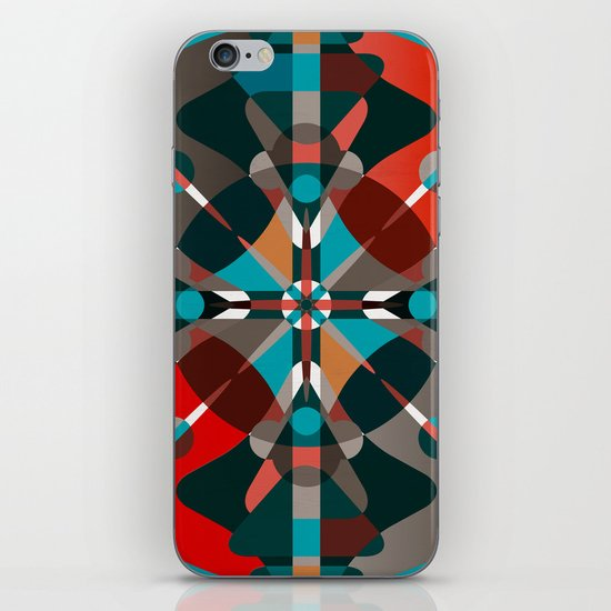 Compass, Palette 2 iPhone & iPod Skin