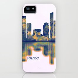 Hanoi Skyline iPhone Case