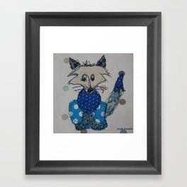 Mr Foxy Framed Art Print
