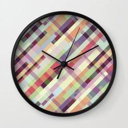 Patternwork XXXI Wall Clock