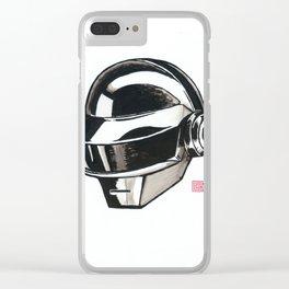 Daft Punk Thomas Bangalter Clear iPhone Case