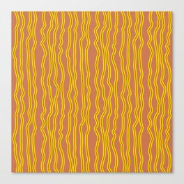Wiggly Stripes Canvas Print