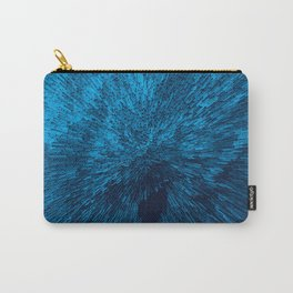 Bold Burst in Blue Carry-All Pouch