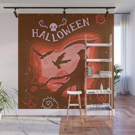 Halloween Creatures Wall Mural