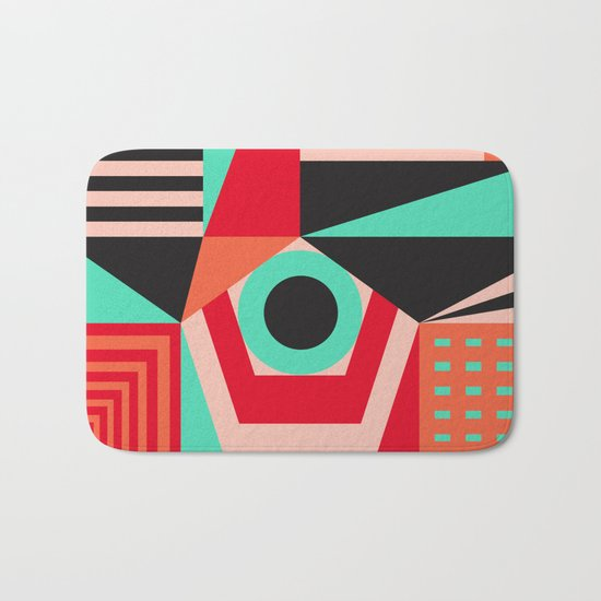 Tribal III Bath Mat