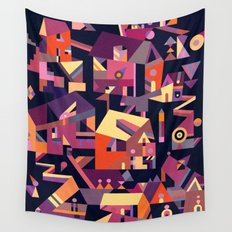 Structura 9 Wall Tapestry