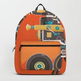 Cine: Orange Backpack