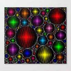 Satin and Jewels Canvas Print