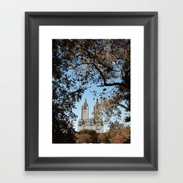 Autumnal City Framed Art Print