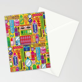 Beauty Routine Sassy Stationery Cards