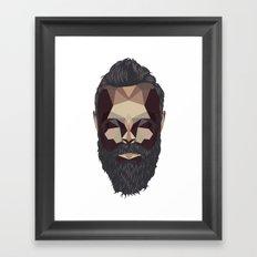 Greybeard Framed Art Print