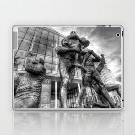 Rugby League Legends statue Wembley stadium Laptop & iPad Skin