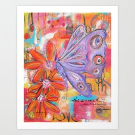 She is more than She knows... Art Print